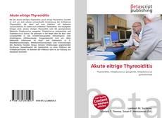 Обложка Akute eitrige Thyreoiditis
