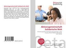 Capa do livro de Aktionsgemeinschaft Solidarische Welt
