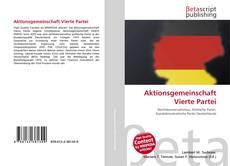 Copertina di Aktionsgemeinschaft Vierte Partei