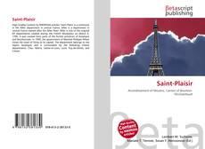 Bookcover of Saint-Plaisir