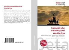 Capa do livro de Sozialistische Einheitspartei Westberlins