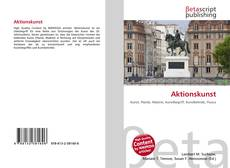 Bookcover of Aktionskunst