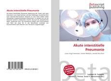 Akute interstitielle Pneumonie的封面
