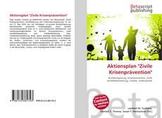 """Buchcover von Aktionsplan """"Zivile Krisenprävention"""""""