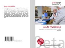Couverture de Akute Thyreoiditis
