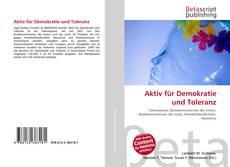 Aktiv für Demokratie und Toleranz kitap kapağı