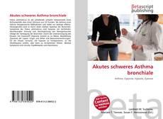 Capa do livro de Akutes schweres Asthma bronchiale