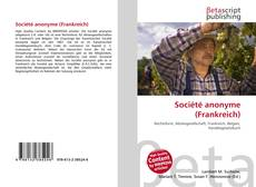 Buchcover von Société anonyme (Frankreich)