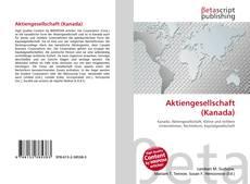 Bookcover of Aktiengesellschaft (Kanada)