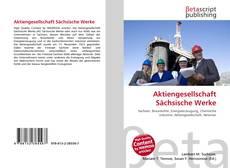 Bookcover of Aktiengesellschaft Sächsische Werke
