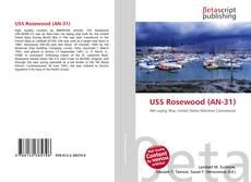 Portada del libro de USS Rosewood (AN-31)