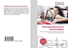 Portada del libro de Aktiengesellschaft für Automobilbau