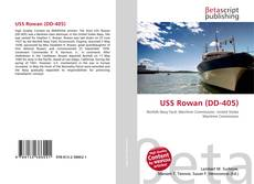 Обложка USS Rowan (DD-405)