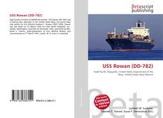 Обложка USS Rowan (DD-782)