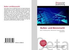 Capa do livro de Bullen- und Bärenmarkt