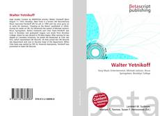 Bookcover of Walter Yetnikoff