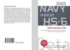 Capa do livro de USS S-29 (SS-134)