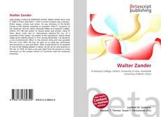 Couverture de Walter Zander