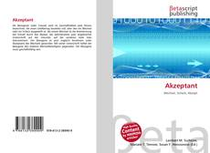 Bookcover of Akzeptant