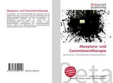 Buchcover von Akzeptanz- und Commitmenttherapie