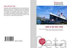 Portada del libro de USS S-43 (SS-154)