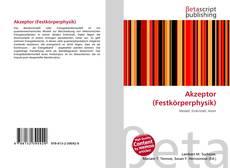 Buchcover von Akzeptor (Festkörperphysik)