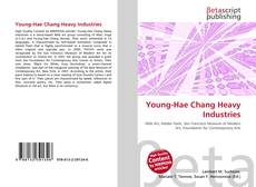 Bookcover of Young-Hae Chang Heavy Industries