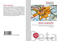 Bookcover of Aktion Ungeziefer