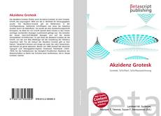 Bookcover of Akzidenz Grotesk