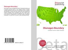 Bookcover of Okanagan-Boundary