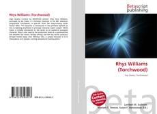 Buchcover von Rhys Williams (Torchwood)