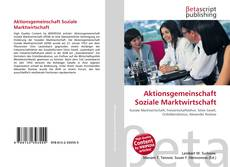 Couverture de Aktionsgemeinschaft Soziale Marktwirtschaft