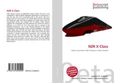 NZR X Class kitap kapağı