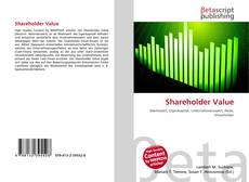 Buchcover von Shareholder Value