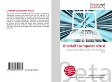 Bookcover of OneHalf (computer virus)