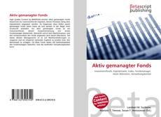 Capa do livro de Aktiv gemanagter Fonds