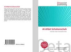 Bookcover of Al-Afdal Schahanschah