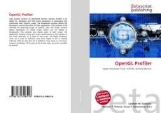 Bookcover of OpenGL Profiler