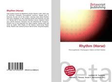 Portada del libro de Rhythm (Horse)