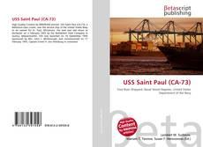 Capa do livro de USS Saint Paul (CA-73)