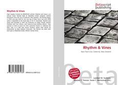 Portada del libro de Rhythm & Vines
