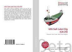Обложка USS Salt Lake City (CA-25)