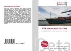 Capa do livro de USS Samoset (ATA-190)