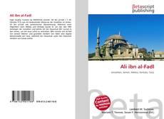 Buchcover von Ali ibn al-Fadl