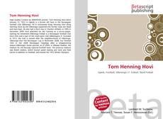 Tom Henning Hovi kitap kapağı