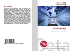 Bookcover of PF (firewall)