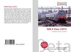 NZR K Class (1877) kitap kapağı