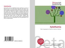 Bookcover of Xylothamia