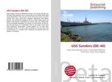USS Sanders (DE-40) kitap kapağı