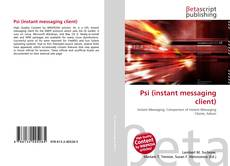 Bookcover of Psi (instant messaging client)